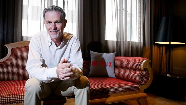 Netflix is the answer to piracy says CEO Reed Hastings.