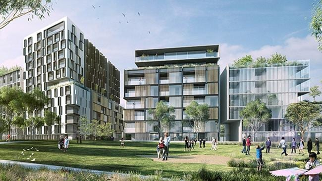 JQZs Grand Central Project In Homebush Near Sydney Olympic Park