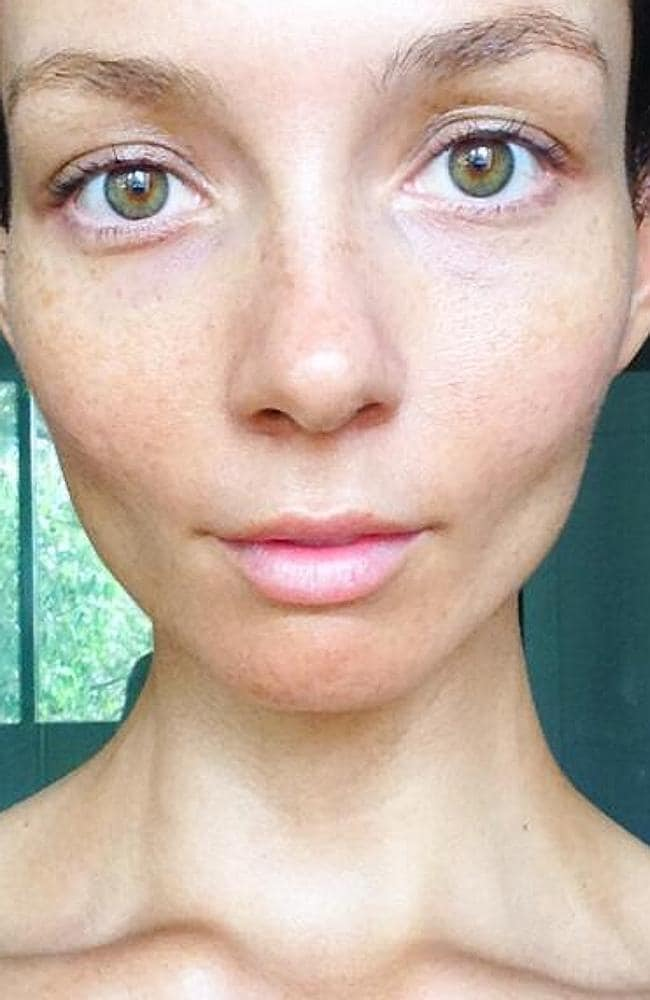 The selfie ... that sparked controversy online. Picture: Ricki-Lee/Instagram