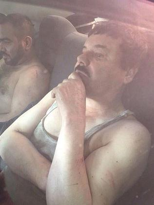 Caught ... Joaquin 'El Chapo' Guzman Loera has been recaptured by Mexican authorities. Picture: Supplied