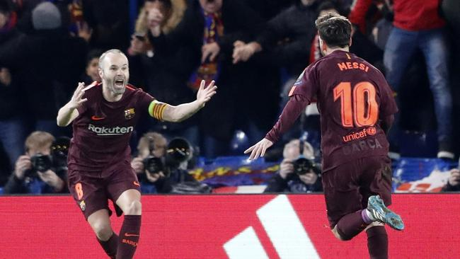 Image result for Chelsea 1- 1 Barcelona: Messi punishes Chelsea to give Barca draw at Stamford Bridge