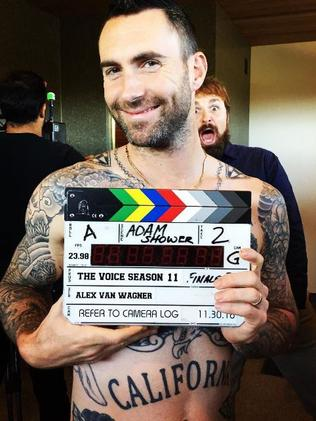 Adam Levine tattoo. Picture: Instagram