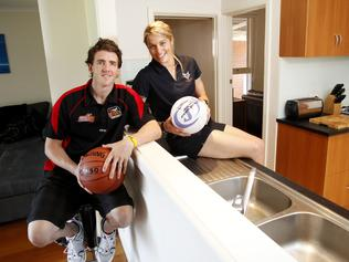Julie and Daryl Corletto in their Bulleen home before Saturday's auction.