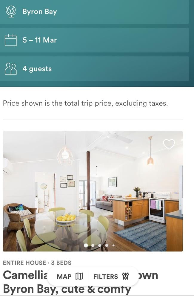 Big business: One in five Australian's have an Airbnb account. Picture: Supplied