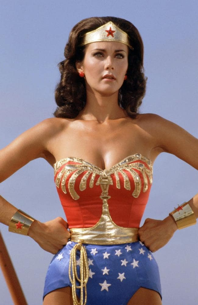 The Wonder Woman of the 1970s, played by Lynda Carter: fighting crime with fashion.