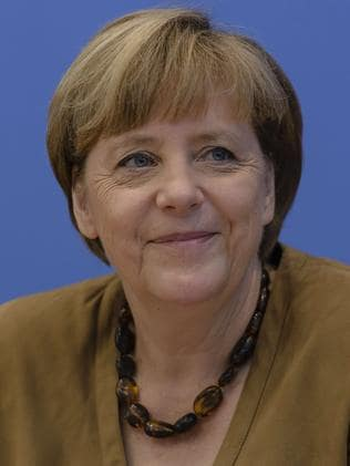 Key player in sanctions ... German chancellor Angela Merkel. Picture: Clemens Bilan