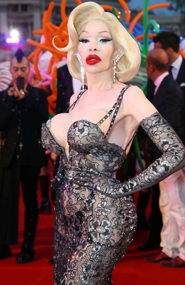 Amanda Lepore: May have had some work done. Picture: Splash News