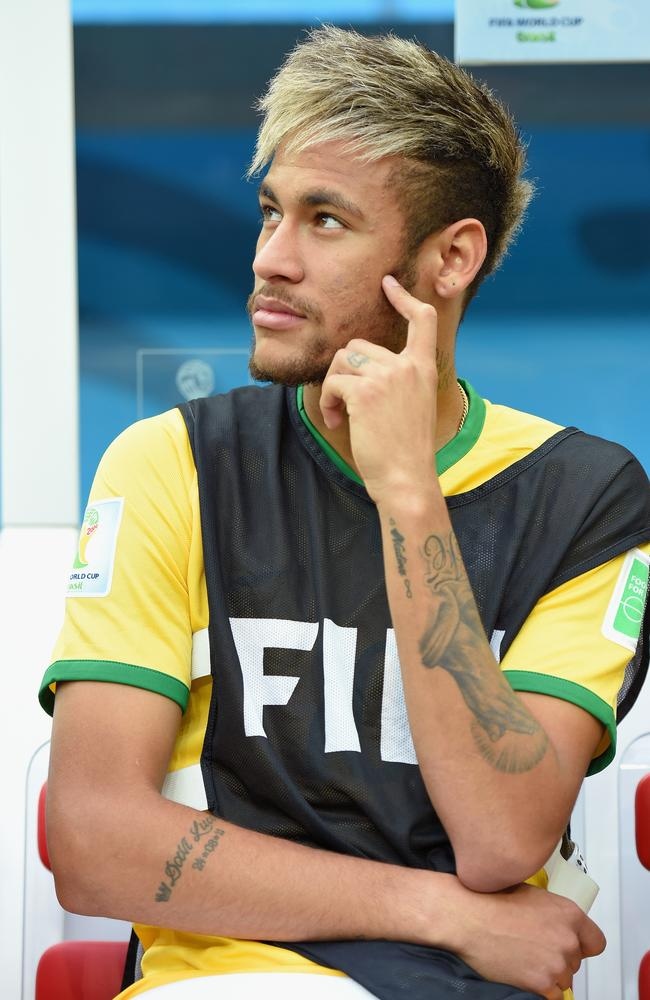 Neymar's mind is in dreamland when he is performing skills on the pitch.