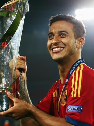 Thiago Alcantara of Spain.