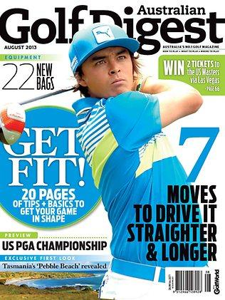 Golf Digest - August cover