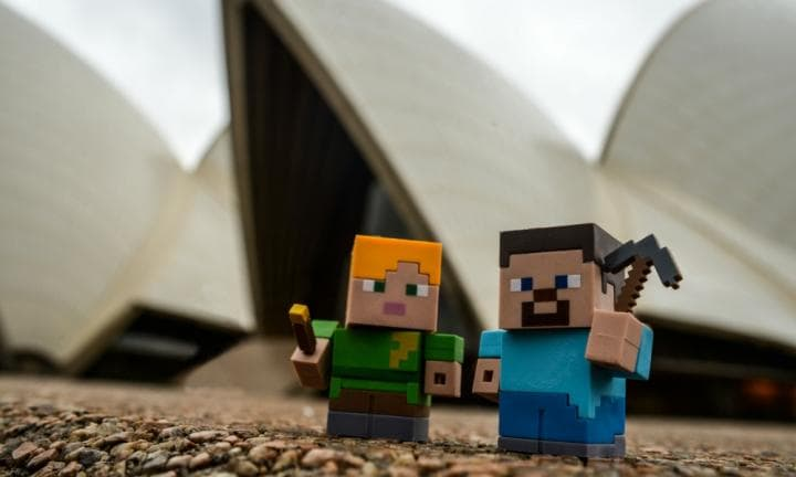 Sydney Opera House to host Australia's first Minecraft event