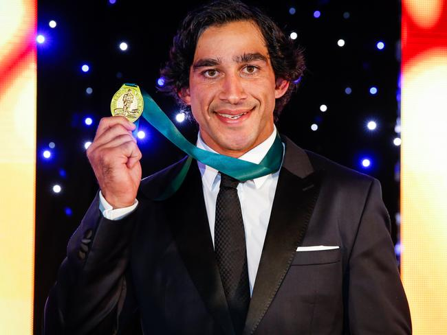 Thurston took out his fourth Dally M medal.