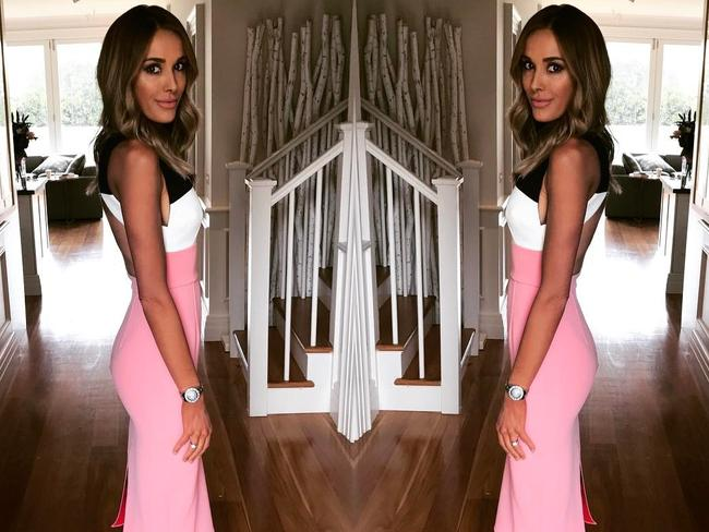 Rebecca Judd often shows off her stylish outfits on social media. Picture: Instagram