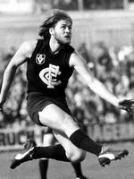 """<p>ROD ASHMAN (Carl)<br /> Not only was """"Ashy'' a member of Carlton's team of the century, he was the one member of Carlton's mosquito fleet who persisted with chin coverage. Guys like Ken Sheldon, Wayne Harms and Jimmy Buckley flirted with facial hair, but Ashman was a stayer.</p>"""