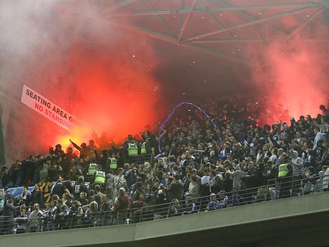 western sydney wanderers flares up - photo#17