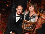 Alexander Skarsgard and his mum My Skarsgard attend the HBO's Official 2017 Emmy After Party at The Plaza at the Pacific Design Center on September 17, 2017 in Los Angeles, California. Picture: Jeff Kravitz/FilmMagic