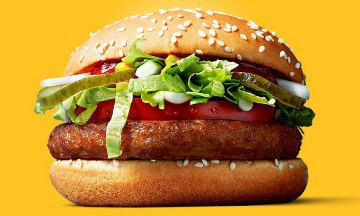 McDonalds releases first-ever McVegan burger