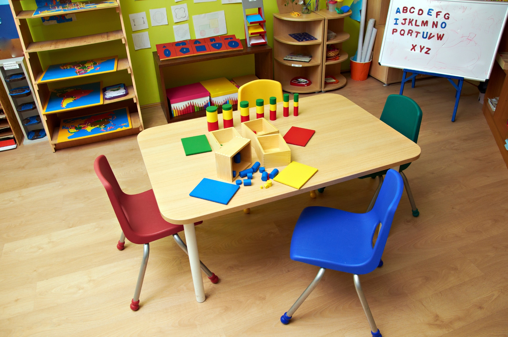 CHP_Export_137886455_Generic photo of an empty table at a daycare centre - childcare centre. Picture