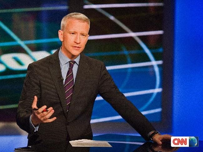 Anderson Cooper on his CNN program.