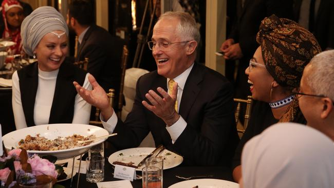 Turnbull hosted the dinner at Kirribilli House. Picture: Andrew Meares/Fairfax Media
