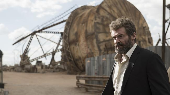 Hugh Jackman in a scene from Logan. Picture: Fox