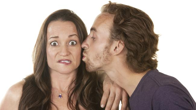Beware the kiss on the cheek. Picture: Thinkstock