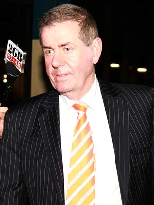 Peter Slipper leaves The Federal Court for mediation with former staffer James Ashby.