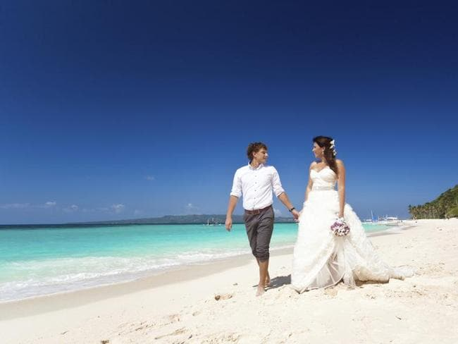 Your dream destination wedding is probably costing your mates an arm and a leg.