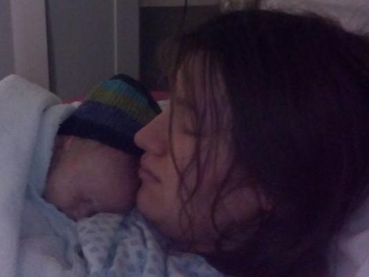 Mum 'gives birth in her sleep'