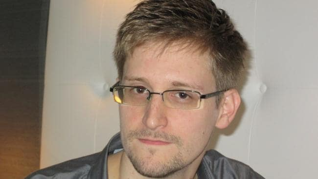 US National security Agency whistleblower Edward Snowden.