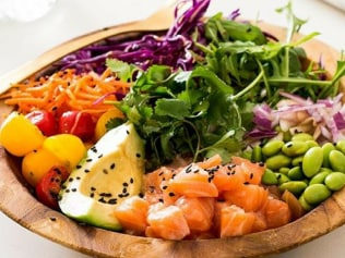 Poke Bowls are officially in healthwise Photo: instagram.com/nude_nutritionist