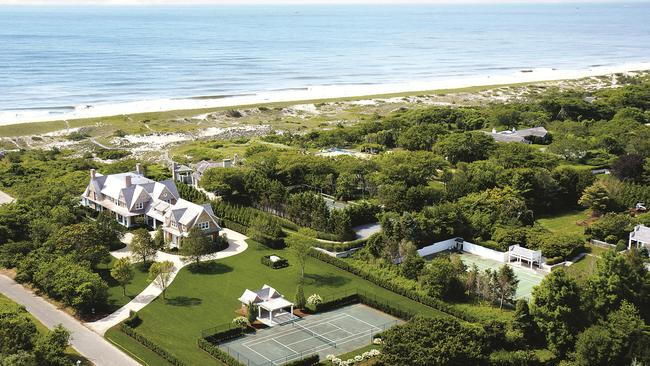 Dream property ... An eight-bedroom home in East Hampton, New York will set you back more than $48 million. Picture: Knight Frank.