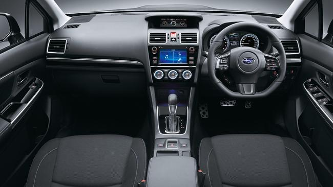 The Subaru's cabin is well finished. Pic: Supplied.