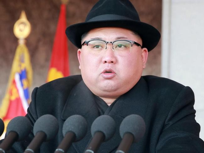NKim Jong-un and his regime are 'playing the West'. Picture: KCNA/Korea News Service/AP