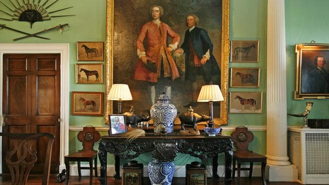 Inside Glin Castle, in Ireland. Picture: Christies International Real Estate.