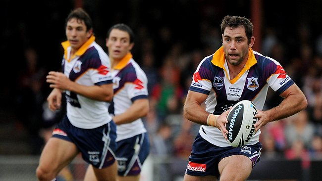 Cameron Smith, Billy Slater and Cooper Cronk of the Storm have been setting the standard so far in 2012.