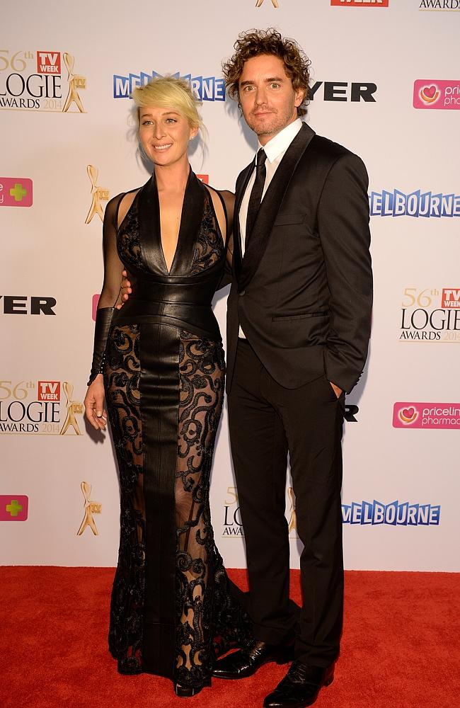 Asher Keddie during the Red Carpet Arrivals ahead of the 56th TV Week Logie Awards 2014 held at Crown Casino on Sunday, April 27, 2014 in Melbourne, Australia. Picture: Jason Edwards