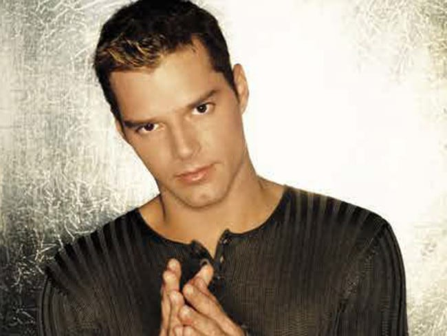That was then ... Ricky Martin in the late 1990s, when he first burst onto the world stage.