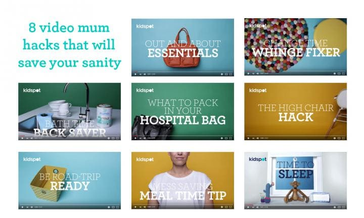 8 video mum hacks that will save your sanity