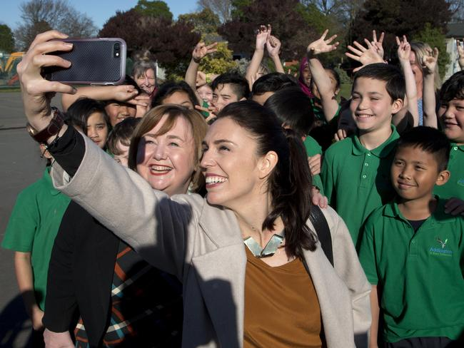 Social media, a relaxed style and a positive campaign helped propel Jacinda Ardern to victory. Picture: AP Photo/Mark Baker, File.
