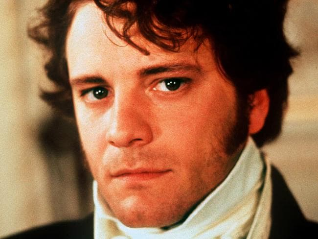 The British actor became a universal heart-throb after his turn as Mr Darcy in Jane Austen's  <i>Pride and Prejudice</i>. Picture: Supplied