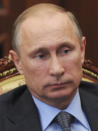 Russian President Vladimir Putin Picture: Mikhail Klimentyev