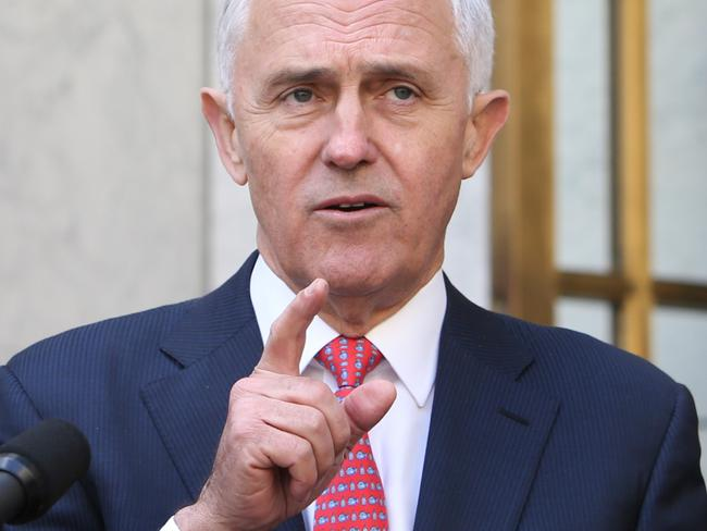 Malcolm Turnbull responds to Labor's decision. Picture: Kym Smith
