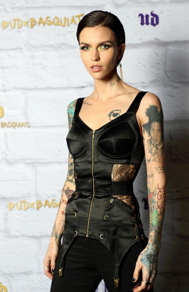 Ruby Rose is the face of Urban Decay, a cruelty-free makeup giant.