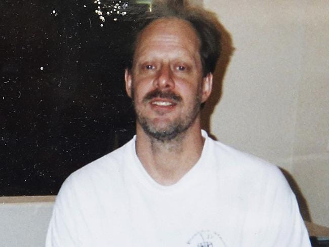 Las Vegas gunman Stephen Paddock, who shot himself in his hotel room. Picture: AP