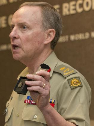 As a Chief of Army, Lieutenant General David Morrison, AO.
