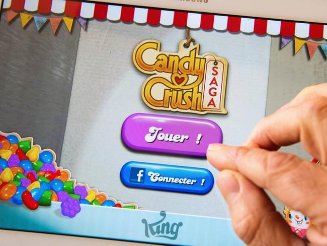 Redirects are sending users to the popular Candy Crush Saga game. Picture: Philippe Huguen / AFP