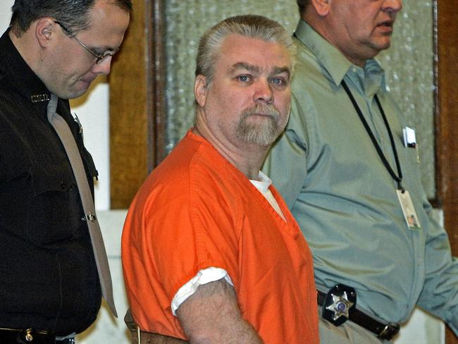 Steven Avery was convicted of killing Teresa Halbach. Picture: Morry Gash/AP