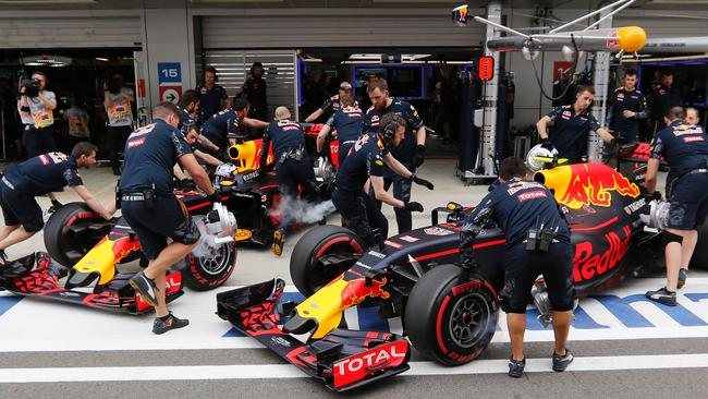 f1 the engine that could make red bull a winner poised for its first big test daily telegraph. Black Bedroom Furniture Sets. Home Design Ideas