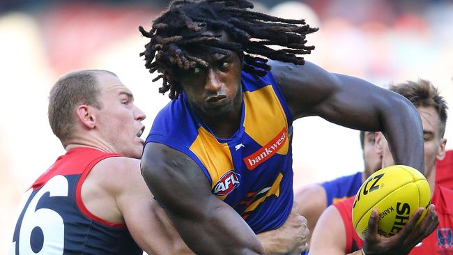 West Coast could be without Nic Naitanui against Collingwood.